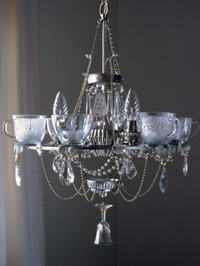 6-cup chandelier